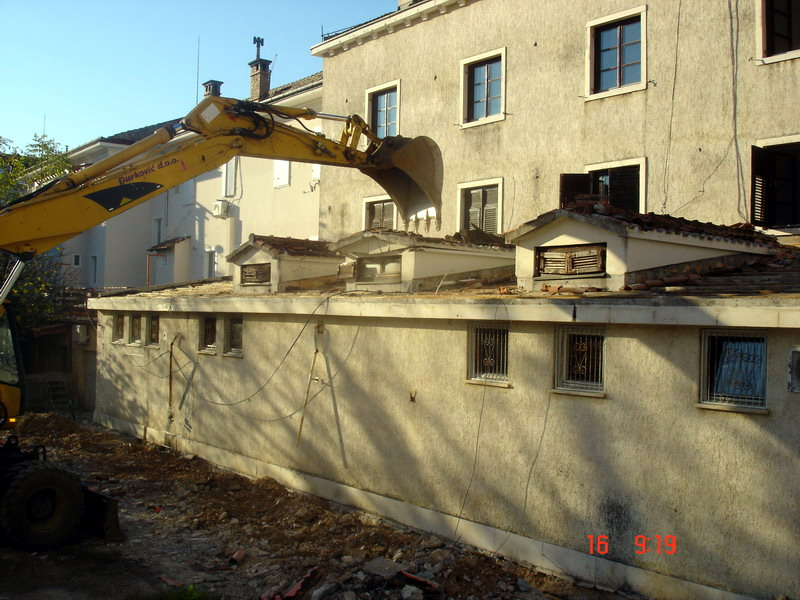 Reconstruction of hotel pine, Тivat | Condor D O O  Budva